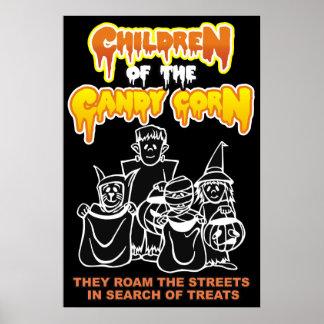 Crianças do milho de doces pôster