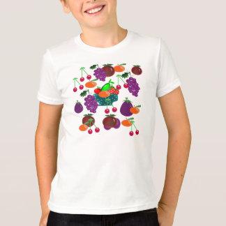 crianças t-shirt