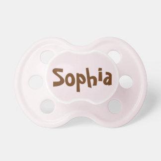 Criar o Pacifier conhecido do seu próprio bebé Chupeta De Bebê