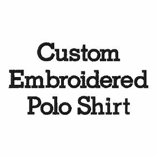 Criar o pólo bordado costume dos homens camiseta bordada polo