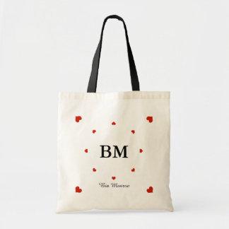 criar seu próprio amor personalizado bolsa tote