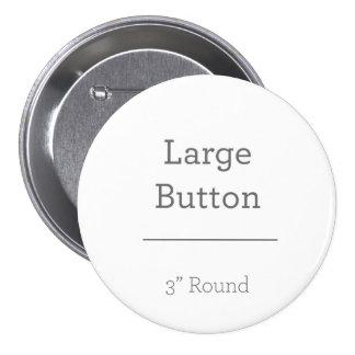 Criar seu próprio botão bóton redondo 7.62cm