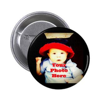 Criar seu próprio modelo dos presentes da foto botons