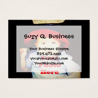 Criar seu próprio modelo dos presentes da foto cartão de visitas