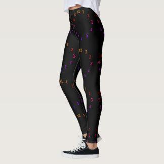 Criar seus próprios 1 2 3 em torno do pulso de leggings