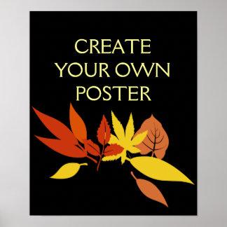 Criar seus próprios pôster