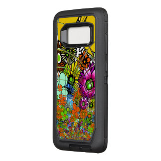Criar sua própria infinidade bonita colorida capa OtterBox defender para samsung galaxy s8