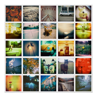 Criar um instagram original e original pôster