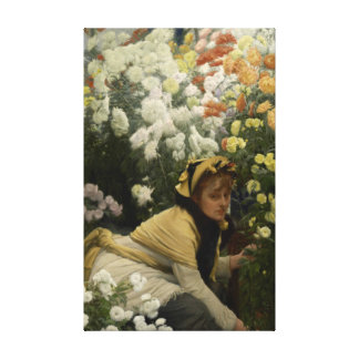 Crisântemos por belas artes de James Tissot