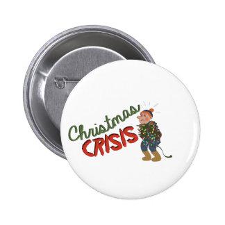 Crise do Natal Bóton Redondo 5.08cm