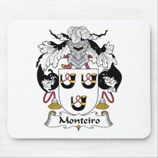 Crista da família de Monteiro Mouse Pad