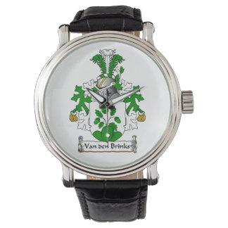 Crista da família de Van antro Limiar Relógio