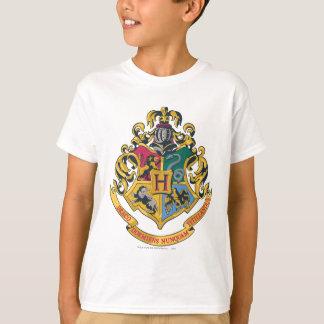 Crista das casas de Hogwarts quatro T-shirt