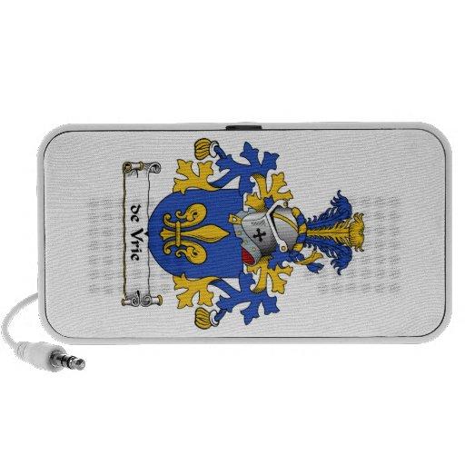 crista de de Vrie Família Caixinha De Som Para iPod