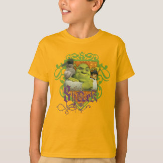 Crista do grupo de Shrek Camiseta