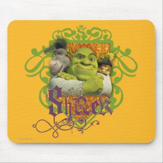 Crista do grupo de Shrek Mouse Pad