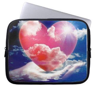 cristallo di cuore capas de notebook