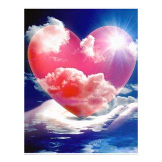 cristallo di cuore flyer 21.59 x 27.94cm