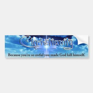 Cristandade Adesivo Para Carro