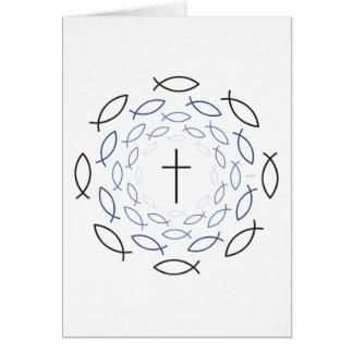 Cristandade Cartão Comemorativo