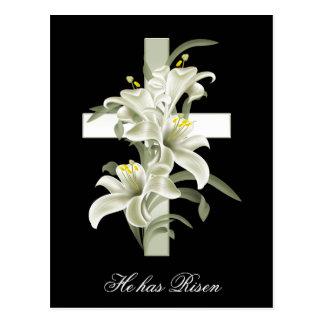 Cristandade da páscoa aumentou cartões postais