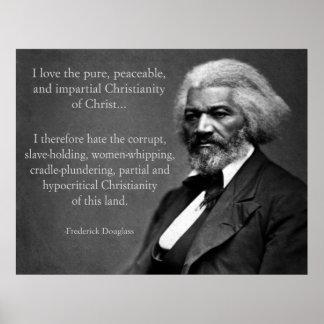 Cristandade de Frederick Douglass Impressão