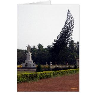 Cristandade em India Cartão Comemorativo