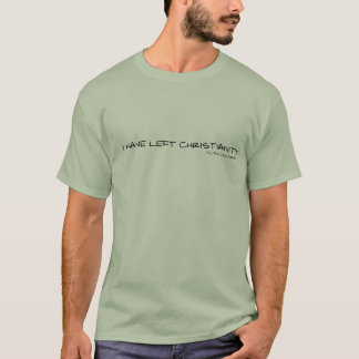 cristandade esquerda t-shirt
