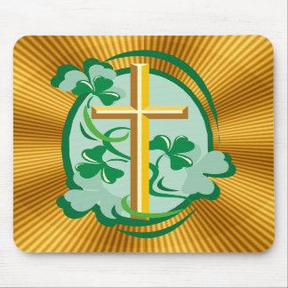 Cristandade irlandesa mousepad