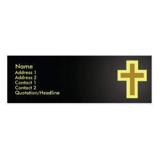 Cristandade - magro cartão de visita