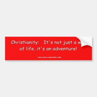 Cristandade uma aventura adesivo