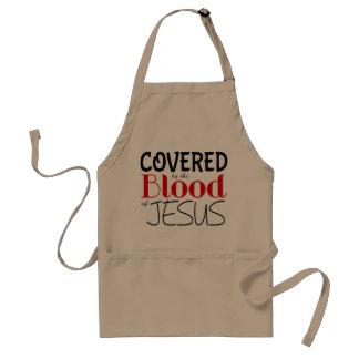 Cristão COBERTO pelo SANGUE do avental de JESUS
