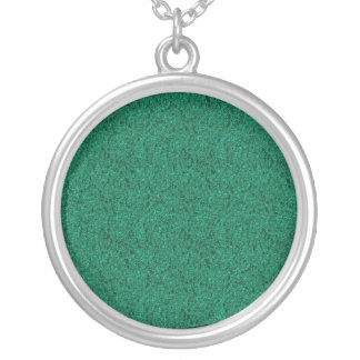 Cristo verde dos modelos da colar do fundo do bril