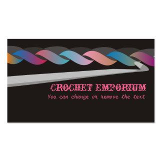 crochet crafting brinquedos cartão de visita da