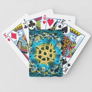 Crocheted Baralhos De Pôquer