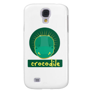 crocodilo engraçado galaxy s4 cover