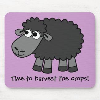 Cronometre para colher as colheitas! (Cultivo virt Mouse Pad