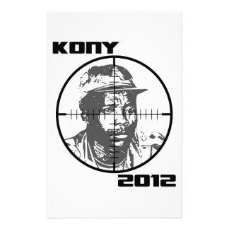 Crosshairs 2012 do alvo de Kony Joseph Kony Papelaria