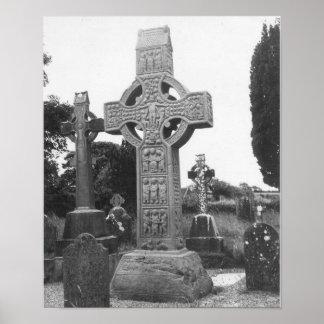 Cruz alta do século IX de Ireland Poster