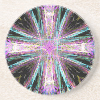 Cruz colorida da porta copos do cristo