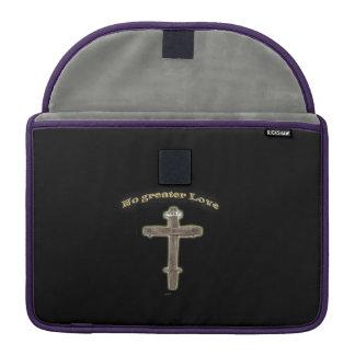 Cruz cristã bolsa para MacBook pro