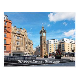 Cruz de Glasgow, Scotland Cartão Postal