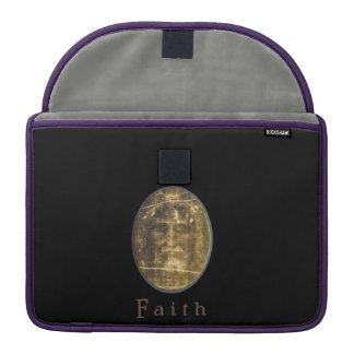 Cruz do ouro do 3:16 de John Bolsas Para MacBook Pro