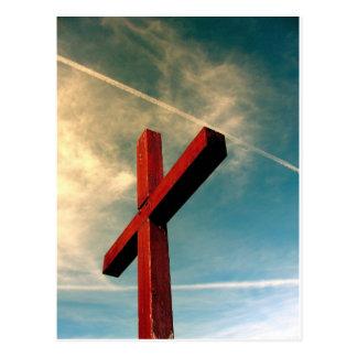 Cruz eterno cartão postal
