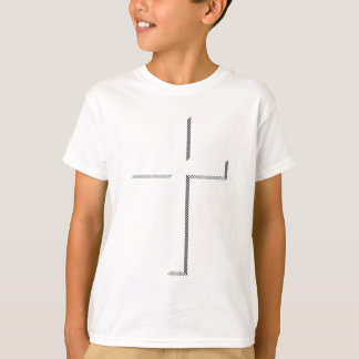 Cruz gravada tshirts