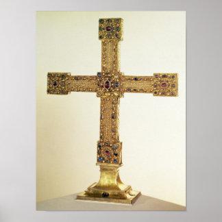 Cruz imperial do império romano santamente poster