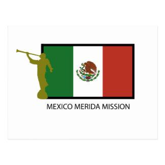 CTR DA MISSÃO LDS DE MÉXICO MERIDA CARTÃO POSTAL