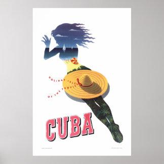Cuba--Ilha do feriado dos trópicos (Cuba 1) Poster