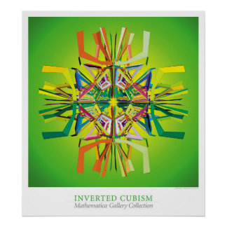 Cubism invertido pôster