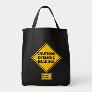 Cuidado: O bolsa do mantimento da leitura do Dysle
